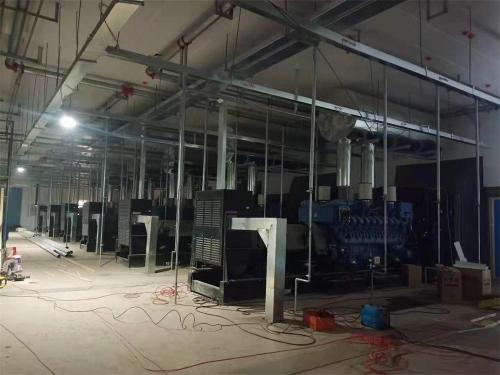 宝马第三工厂给水、污水泵站柴油发电机组采购集中采购安装